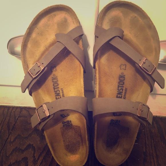 a80d3740539e Birkenstock Shoes - Birkenstock Mayari Sandals- Mocha- 39 (8.5 9)